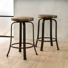 Industrial Metal Bar Stool Industrial Counter Bar Stools For Less Overstock
