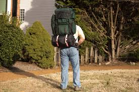 Backpack With Chair Attached The Advantages And Disadvantages Of An External Frame Backpack