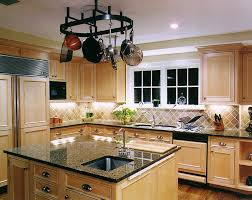 natural maple cabinets with granite light maple with tile backsplash via google image result for http