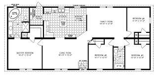 floor plans four bedroom mobile homes l 4 bedroom floor plans