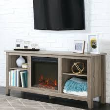 Electric Fireplace Heater Tv Stand by Driftwood 58 Inch Electric Fireplace Tv Stand Space Heater