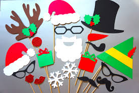 christmas photo booth props christmas sweater party photo booth props 20 set