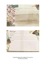 best 25 printable recipe cards ideas on pinterest recipe cards