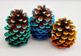 pinecone ornaments pinecone diys