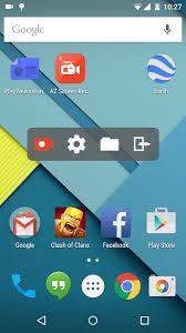 scr screen recorder apk az screen recorder is a non root lollipop screen capture app with