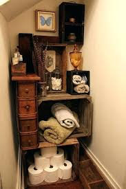 vintage bathroom storage ideas wooden crate storage ideas crate storage finished vintage crate