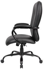 boss heavy duty caressoft plus big and tall chair b990 cp
