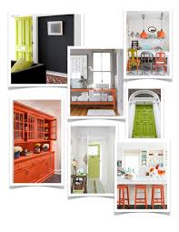 color pop using bold citrus accents by kimberly reuther designspeak