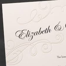 wedding invitations sydney embossed pearl swirls wedding invitations flamingo