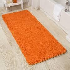 Bathroom Rugs And Mats Orange Bath Rugs U0026 Mats You U0027ll Love Wayfair