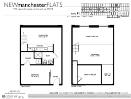 Two Bedroom Floor Plans One Bath Two Bedroom Apartments In Richmond Va Manchester District