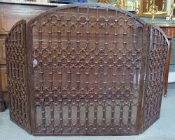 wrought iron fireplace screens image u2014 home ideas collection to