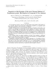 microbiology society journals regulation of the enzymes of the