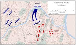 Run Map File First Battle Of Bull Run Map7 Jpg Wikimedia Commons