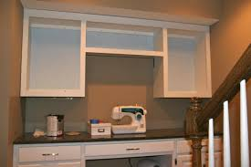 Kitchen Desk Cabinets Built In Hanging Cabinets Brady Lou Project Guru