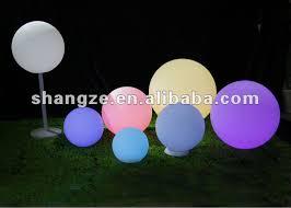 plastic light sphere outdoor sphere led lighting lights