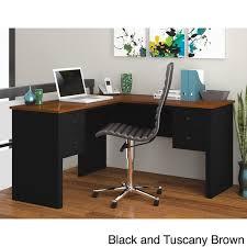 overstock l shaped desk bestar somerville l shaped desk free shipping today overstock