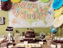 welcome to the world baby shower our welcome to the world baby shower custom fonts vintage maps