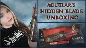 spirit halloween assassin s creed assassin u0027s creed movie aguilar u0027s hidden blade unboxing youtube