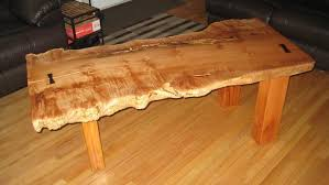 Build Wood Slab Coffee Table by New Chinky Workshop Dwa Large Projects