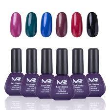 amazon com melodysusie durable gel nail polish lux classics 1