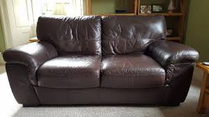 violino leather sofa price violino 2 seater dark brown leather sofa in very good condition in