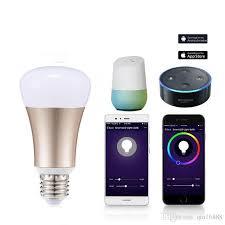 wifi enabled light bulb wifi smart light bulbs smart led bulb wi fi light bulb 7w equivalent