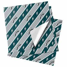 notre dame wrapping paper philadelphia eagles wrapping paper eagles gift bags eagles