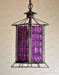 Purple Pendant Light Shade Purple Fabric Pendant Light Shades With 8 Lights Modern Purple