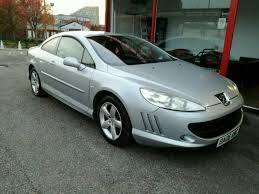 peugeot 407 coupe 2007 peugeot 407 coupe grand tourer red leather in prestwich