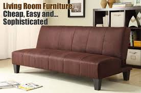 winchester convertible futon in the living room