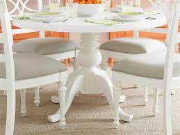 stanley pedestal dining table stanley furniture coastal living retreat saltbox white 48 round