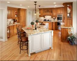 kitchen gorgeous kitchen design with brown oak wooden kitchen
