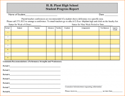 student progress report template student progress report template png loan application form