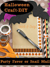 Easy Halloween Craft Projects - craft projects easy halloween craft party favors