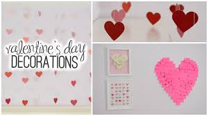 diy room decorations for valentine u0027s day youtube