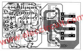 layout pcb inverter 12v 24v pwm motor controller circuit using tl494 irf1405