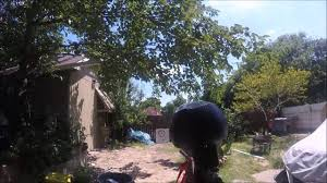 gopro shooting azodin blitz 3 in backyard paintball youtube
