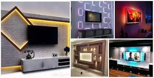 Tv Wall Units 18 Best Tv Wall Units With Led Lighting That You Must See