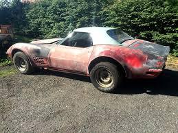 corvette lt1 corvettes on ebay garage find 1971 corvette lt1 convertible