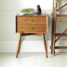 modern reclaimed wood nightstand portland wooden nightstand rustic