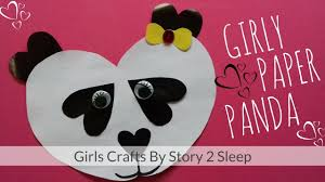 Paperpanda It U0027s Time With Fun Girls Crafts Girly Paper Panda By Story 2