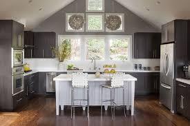 kitchen cabinets with grey walls espresso kitchen cabinets contemporary kitchen