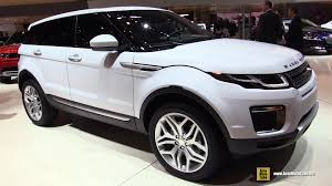 land rover range rover 2016 interior 2016 land rover evoque hse si4 exterior and interior walkaround