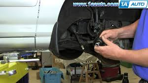 how to install replace worn outer tie rod 2001 06 hyundai elantra