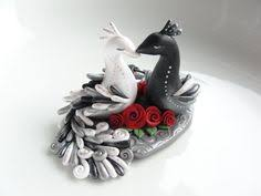 peacock wedding cake topper siamese cat wedding cake topper by bonjour by bonjourpoupette
