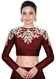 blouse for designer cotton silk blouse fabric shopping india