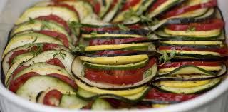 comment cuisiner les courgettes tian d aubergines à la vapeur aux fourneaux