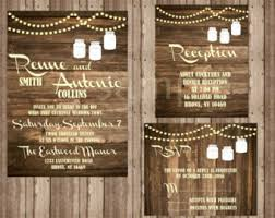 Rustic Wedding Invitations Cheap Rustic Wedding Invitation