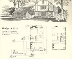 house plans with turrets vintage house plans 1970s homes tudor style architecture cottage